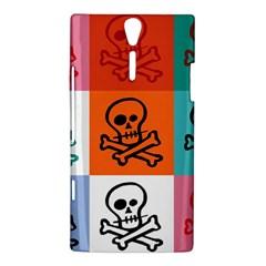 Skull Sony Xperia S Hardshell Case