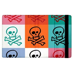 Skull Apple Ipad 2 Flip Case