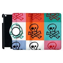 Skull Apple iPad 2 Flip 360 Case
