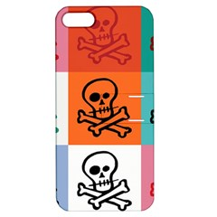 Skull Apple iPhone 5 Hardshell Case with Stand