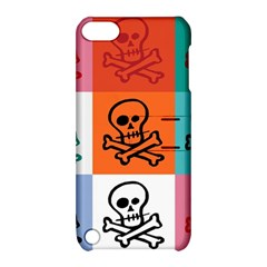 Skull Apple iPod Touch 5 Hardshell Case with Stand