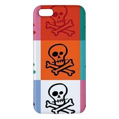 Skull Apple Iphone 5 Premium Hardshell Case