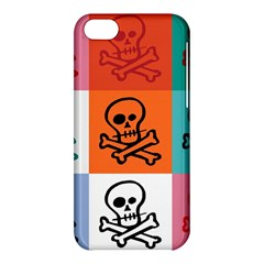 Skull Apple iPhone 5C Hardshell Case