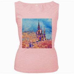 Castle for a Princess Women s Tank Top (Pink)