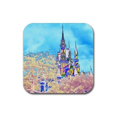 Castle for a Princess Drink Coasters 4 Pack (Square)