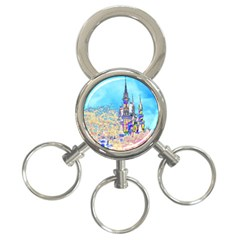 Castle for a Princess 3-Ring Key Chain