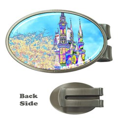 Castle for a Princess Money Clip (Oval)