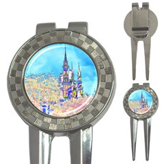 Castle for a Princess Golf Pitchfork & Ball Marker