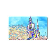 Castle for a Princess Magnet (Name Card)