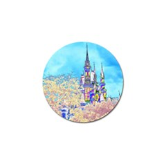 Castle for a Princess Golf Ball Marker 4 Pack