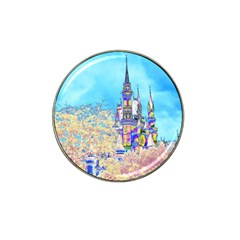 Castle for a Princess Golf Ball Marker 4 Pack (for Hat Clip)
