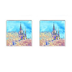 Castle for a Princess Cufflinks (Square)