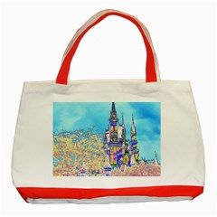 Castle For A Princess Classic Tote Bag (red)