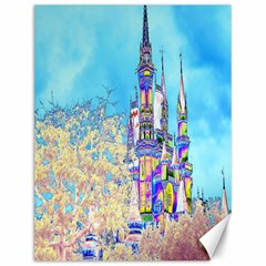 Castle for a Princess Canvas 12  x 16  (Unframed)
