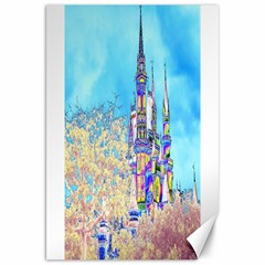 Castle for a Princess Canvas 20  x 30  (Unframed)