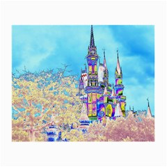 Castle for a Princess Glasses Cloth (Small, Two Sided)