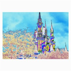 Castle for a Princess Glasses Cloth (Large, Two Sided)