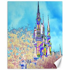 Castle for a Princess Canvas 11  x 14  (Unframed)