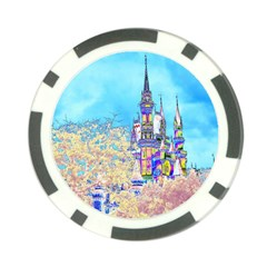 Castle for a Princess Poker Chip