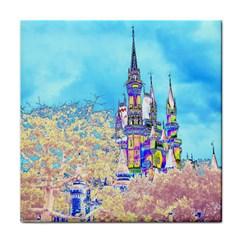 Castle for a Princess Face Towel