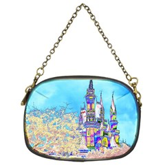 Castle for a Princess Chain Purse (One Side)