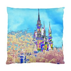 Castle for a Princess Cushion Case (Two Sided)
