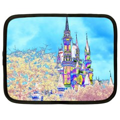 Castle For A Princess Netbook Sleeve (xl)