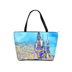 Castle for a Princess Large Shoulder Bag