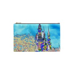 Castle For A Princess Cosmetic Bag (small)