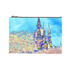 Castle for a Princess Cosmetic Bag (Large)