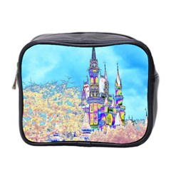 Castle for a Princess Mini Travel Toiletry Bag (Two Sides)