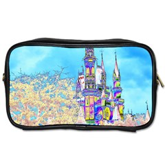 Castle For A Princess Travel Toiletry Bag (two Sides)