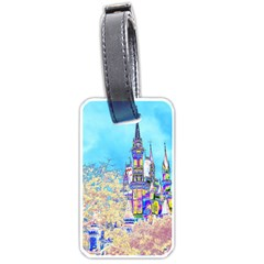 Castle for a Princess Luggage Tag (Two Sides)