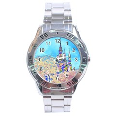 Castle for a Princess Stainless Steel Watch