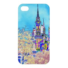 Castle For A Princess Apple Iphone 4/4s Hardshell Case