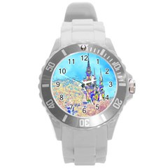 Castle for a Princess Plastic Sport Watch (Large)