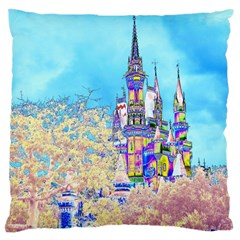 Castle for a Princess Large Cushion Case (Two Sided)