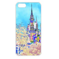 Castle For A Princess Apple Iphone 5 Seamless Case (white)