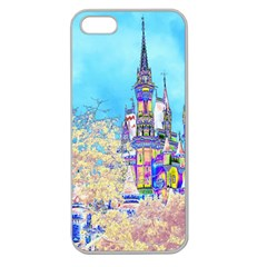 Castle For A Princess Apple Seamless Iphone 5 Case (clear)