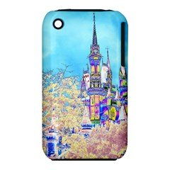 Castle for a Princess Apple iPhone 3G/3GS Hardshell Case (PC+Silicone)