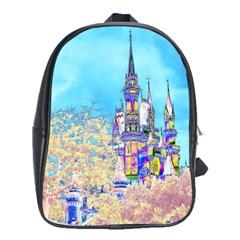 Castle for a Princess School Bag (XL)