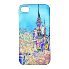 Castle For A Princess Apple Iphone 4/4s Hardshell Case With Stand