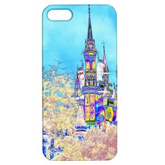 Castle for a Princess Apple iPhone 5 Hardshell Case with Stand