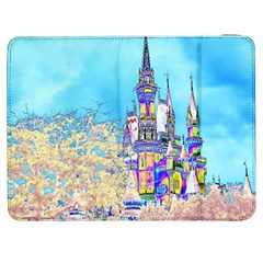 Castle for a Princess Samsung Galaxy Tab 7  P1000 Flip Case