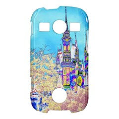 Castle for a Princess Samsung Galaxy S7710 Xcover 2 Hardshell Case