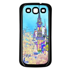 Castle for a Princess Samsung Galaxy S3 Back Case (Black)