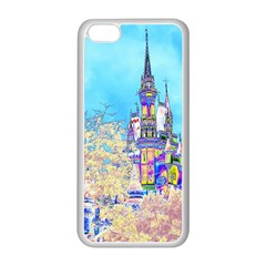 Castle for a Princess Apple iPhone 5C Seamless Case (White)