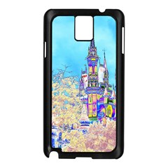 Castle for a Princess Samsung Galaxy Note 3 N9005 Case (Black)