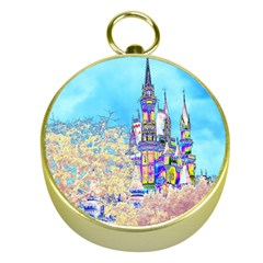 Castle for a Princess Gold Compass