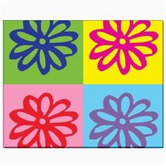Flower Canvas 8  x 10  (Unframed)
